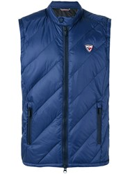 Rossignol Quilted Gilet Blue