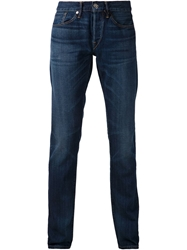 3X1 'M5 Selvedge Slim Rebel' Jeans Blue