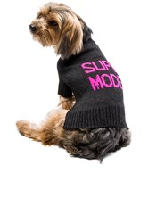 360 Sweater Skull Dog Super Model Sweater Charcoal