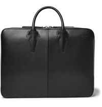 Berluti Spy Convertible Leather Briefcase And Backpack Black
