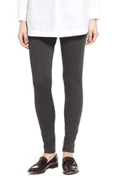 Vince Camuto Women's Two By Seamed Back Leggings Dark Heather Grey
