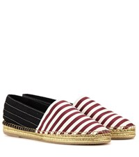 Marc Jacobs Printed Fabric Espadrilles Red