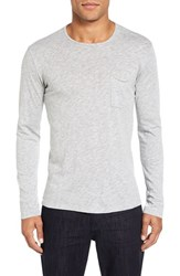 Velvet By Graham And Spencer Men's Simeon T Shirt Heather Grey