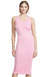 Young Fabulous And Broke Denny Dress Hot Pink