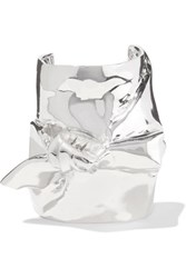 Jennifer Fisher Bow Silver Plated Cuff One Size