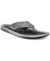 Kenneth Cole Reaction Go Four Th Thong Sandals Men's Shoes Grey