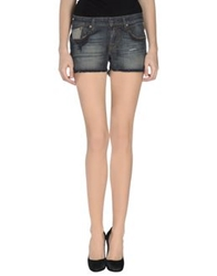 Replay Denim Shorts Blue