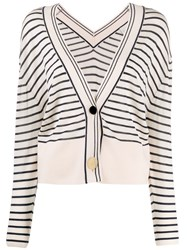 Forte Forte Striped Loose Fit Cardigan 60