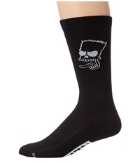 Neff Trouble Socks Little Kid Big Kid Black Men's Crew Cut Socks Shoes