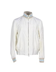 Kejo Coats And Jackets Jackets Men Ivory