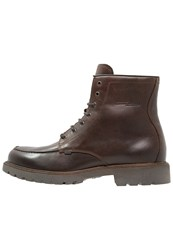Camel Active Laceup Boots Mocca Dark Brown