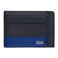 Boss Blue Two Sided Card Holder