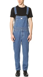 Calvin Klein Jeans Vintage Denim Overalls Medium Stone Wash
