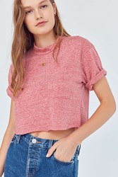 Project Social T Lily Pocket Tee Red