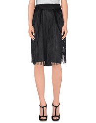 'S Max Mara Skirts Knee Length Skirts Women Black