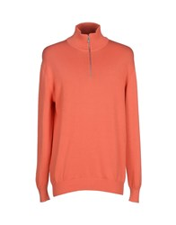 Zegna Sport Turtlenecks Orange