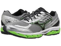 Mizuno Wave Paradox 3 High Rise Green Gecko Black Men's Running Shoes Silver