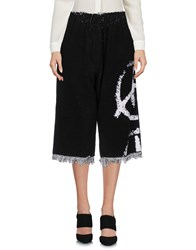 Haal Trousers 3 4 Length Trousers Black