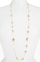 Melinda Maria 'Sabrina' Long Station Necklace Gold
