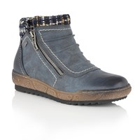 Lotus Relife Carmen Ankle Boots Blue