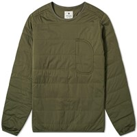 Snow Peak Flexible Insulated Pullover Green