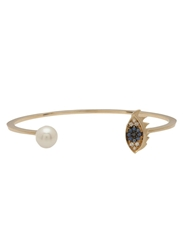 Delfina Delettrez Evil Eye Bangle Metallic