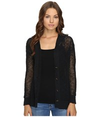 Roxy Stay Awhile Cardigan True Black Women's Sweater