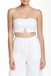 Re Named Apparel Cutout Hem Bustier