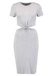 Abercrombie And Fitch Cutout Shift Dress Gray Grey