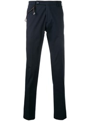 Berwich Tailored Slim Fit Chinos Blue