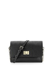 Gigi New York Black Catherine Crossbody