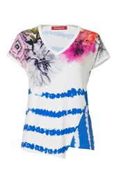Desigual T Shirt Cellia Blue