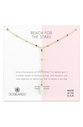 Dogeared Reach For The Stars Y Necklace Gold