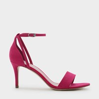Charles And Keith Ankle Strap Sandals Fusia