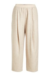 Agnona Wide Leg Pants With Alpaca Wool And Cashmere