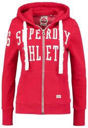 Superdry Tracksuit Top Rich Scarlet Red