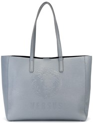 Versus Large Double Straps Tote Grey