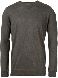 Laneus Crew Neck Sweater Grey