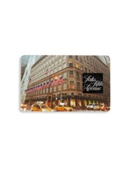 Saks Fifth Avenue Nyc Flagship Gift Card No Color