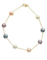 Effy 6Mm Pearl And 14K Yellow Gold Necklace