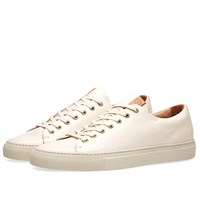 Buttero Lined Tanino Low Sneaker White