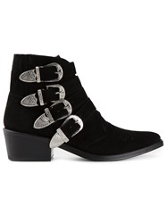Toga Pulla 'Pulla' Ankle Boots Black