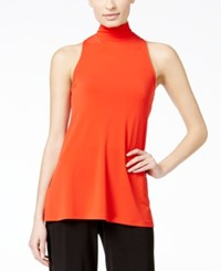 Alfani Prima Mock Turtleneck Sleeveless Knit Top Only At Macy's
