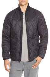 Obey 'Union' Diamond Quilted Jacket Black