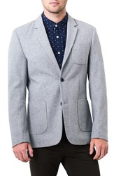 7 Diamonds Men's Crotone Casual Blazer Oatmeal