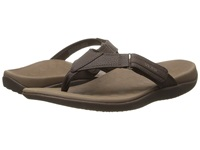 Vionic With Orthaheel Technology Ryder Chocolate Tan Men's Sandals Brown