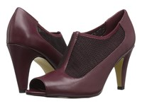 Bella Vita Ninette Burgundy Stretch High Heels