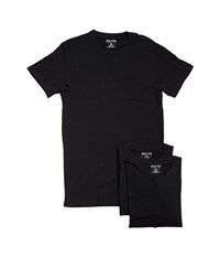 Kenneth Cole Reaction 3 Pack Cotton Stretch Crew Black Combo Men's Pajama