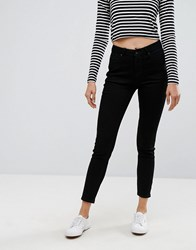 Esprit High Waisted Skinny Jeans Black