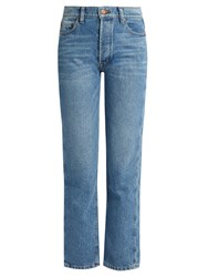 Bliss And Mischief Collector Fit High Rise Jeans Denim